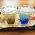 グリーンとブルー