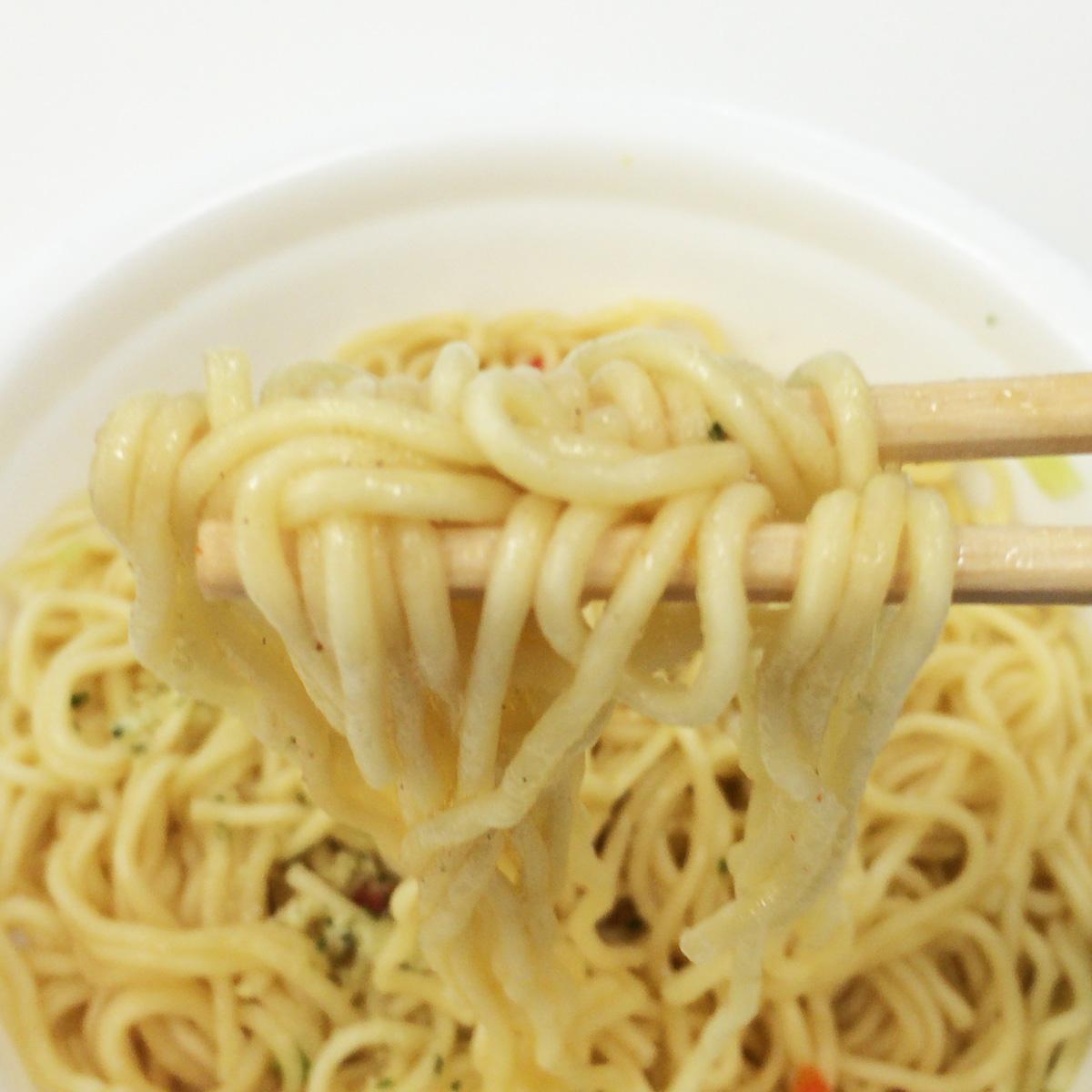 チーズ星人3部作「焼そばU.F.O.チーズペペロンチーノ風」を食べてみました