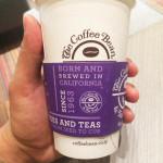 コーヒービーンのカップ